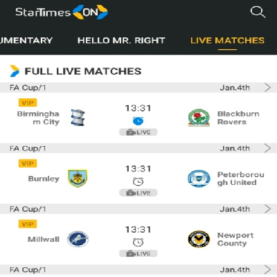FA Cup StarTimes